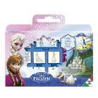 Valigetta 7 timbri gioco + pennarelli colorati e album disegno Frozen (7883)