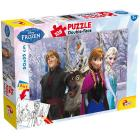 Puzzle Double Face Plus 108 Frozen My Friends