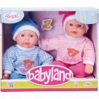 Babyland. 25 cm gemellini