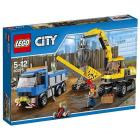 Scavatore e camion - Lego City Demolition (60075)