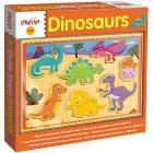 Legno Chunky Shapes Dinosaurs