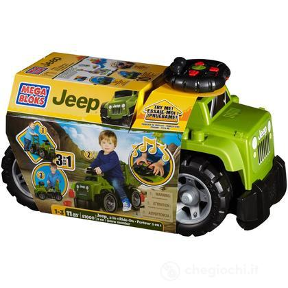 Mega Bloks Jeep Ride-On (Verde) (81000U)