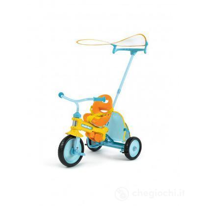 Triciclo Magic – Azzurro con barriera (2401)