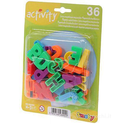 Activity 36 lettere magnetiche maiuscole (7600028002)