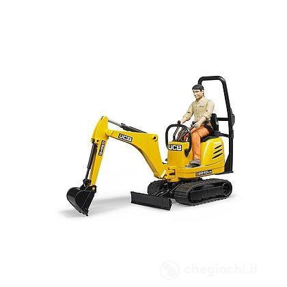 JCB Micro escavatore 8010 CTS con figura (62002)