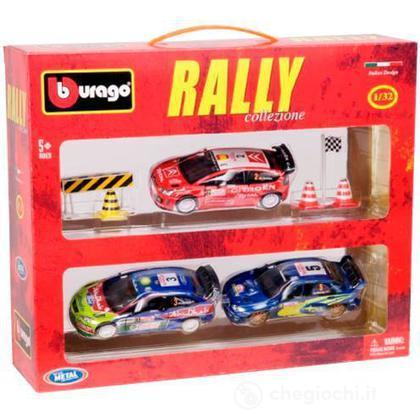 Valigetta 3 automobili rally