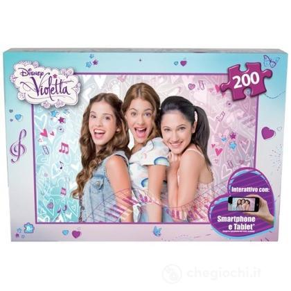 Puzzle 200 Pezzi Violetta Interattivo (ITS51003)