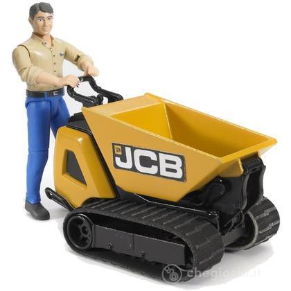 JCB Dumpster HTD-5 con figura (62004)