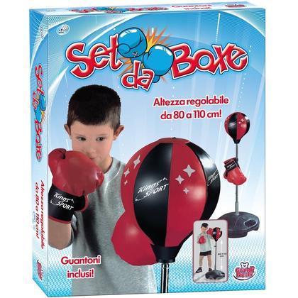 Set Box 80 - 110 Cm. Con Guantoni (GG43004)