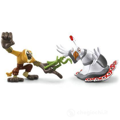 Kung Fu Panda 2 - Scimmia e Mantide VS Lord Shen (V7577)