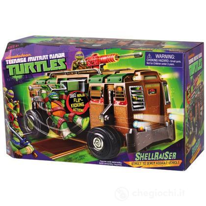 Camion Shell Raiser Ninja Turtles con personaggio (94010)