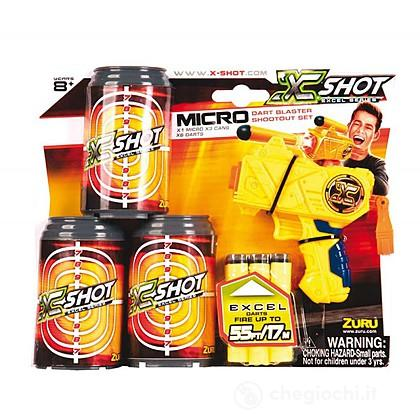 X-Shot Bls.Pistola+3 Lattine+6 Dardi
