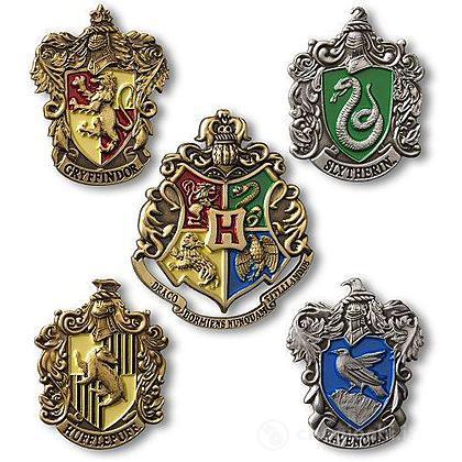Harry Potter: Collezione 5 Spille Casate di Hogwarts (NN7374)