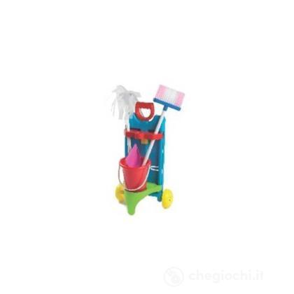 Trolley pulizia