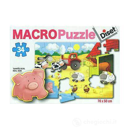 Macro Puzzle Fattoria Gigante (41012)