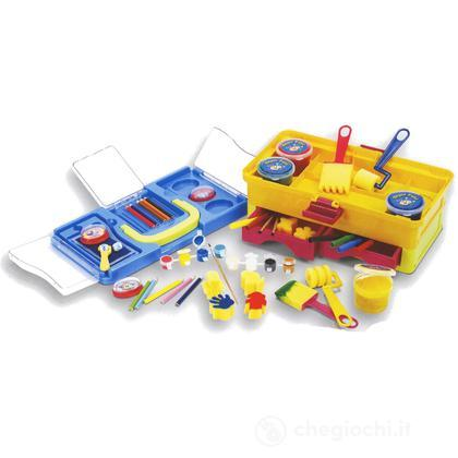 Super kit pittura in valigetta