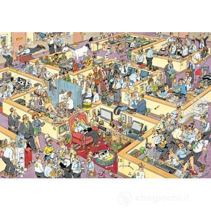 Puzzle Comic 1000 pezzi - L'ufficio