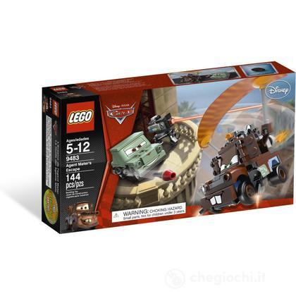 LEGO Cars - La fuga dell'agente Carl Attrezzi (9483)