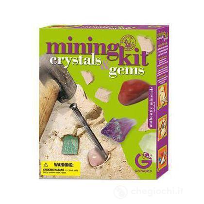 Mining Kit - Crystals & Gems