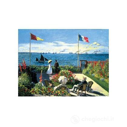 Monet: Terrazza a Sainte Adrese