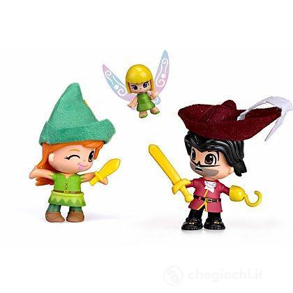 Pinypon Peter Pan, Uncino e Trilli