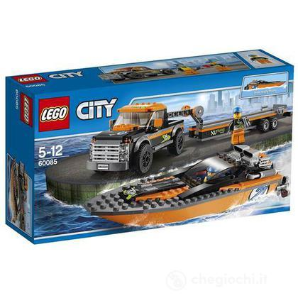 4x4 trasporta motoscafo - Lego City Great Vehicles (60085)