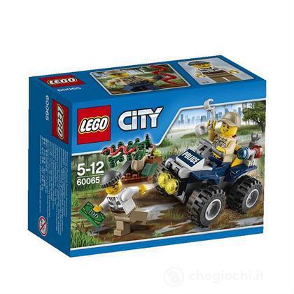 Pattuglia ATV - Lego City Police (60065)