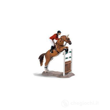 Set equitazione salto ostacoli (42026)