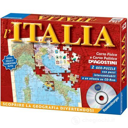 Carta d'Italia + Atlante CD