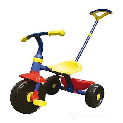Triciclo blu giallo