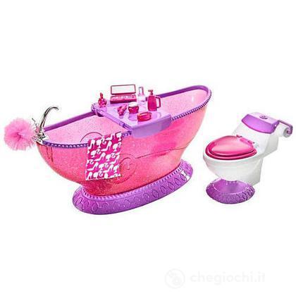 Barbie arredamenti basic - Bagno (T7537)