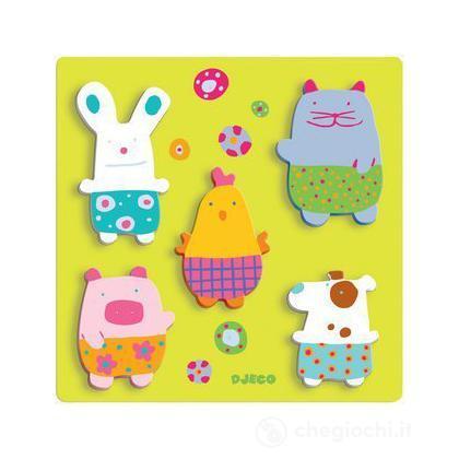 Farmyard cuddly toys