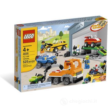 LEGO Mattoncini - Gioca con i veicoli (4635)