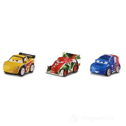 Veicoli Cars 2 micro drifters Jeff, Francesco, Raoul (Y8388)