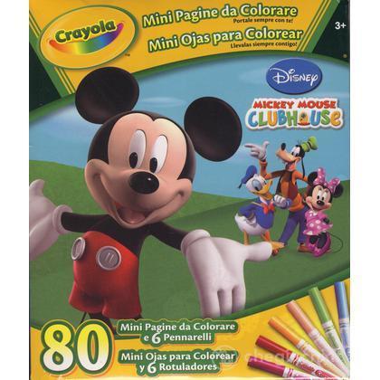 Mini pagine da colorare Mickey Mouse Club House