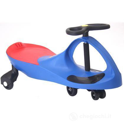 Auto serpeggiante blu (PL30878)