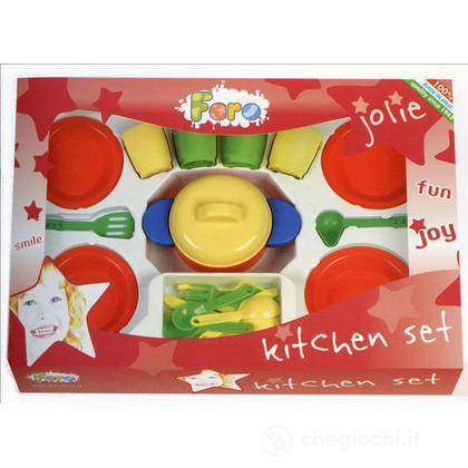 Set piatti più pentolone
