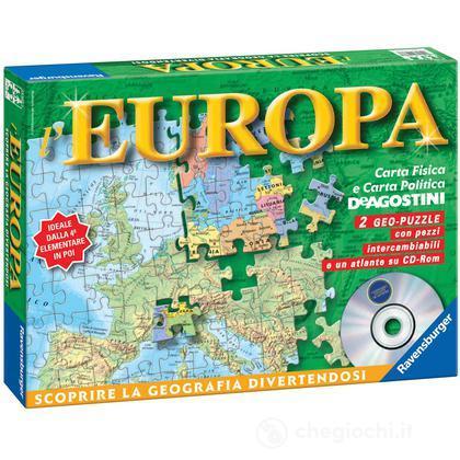 Carta d'Europa + Atlante CD