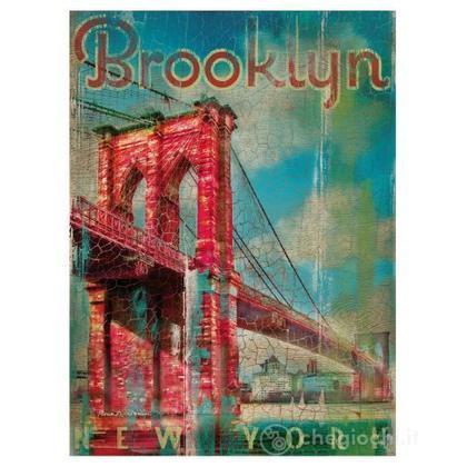 Brooklyn - 500 pezzi Legno (37034)