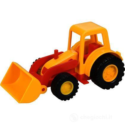 Mini trattore con benna