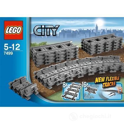 LEGO City - Binari flessibili (7499)
