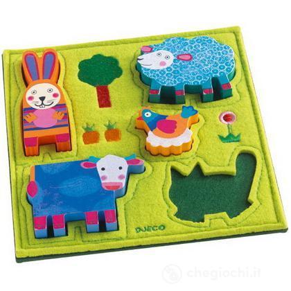 Puzzle in stoffa Happy Farm (DJ01040)