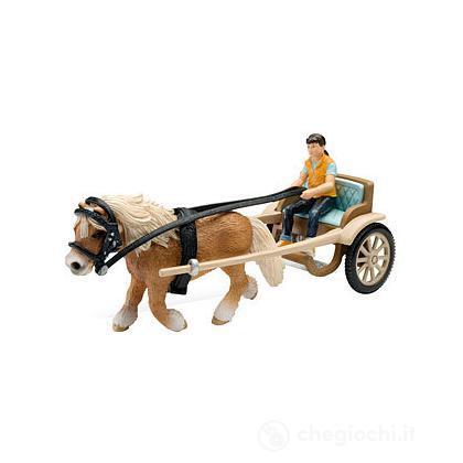 Carrozza per pony (42040)