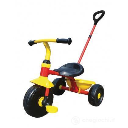 Triciclo giallo nero (8040)