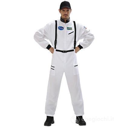 Costume adulto Astronauta Bianco M (11042)