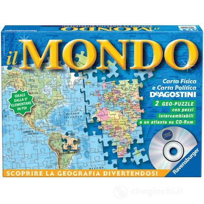 Carta del Mondo + Atlante CD