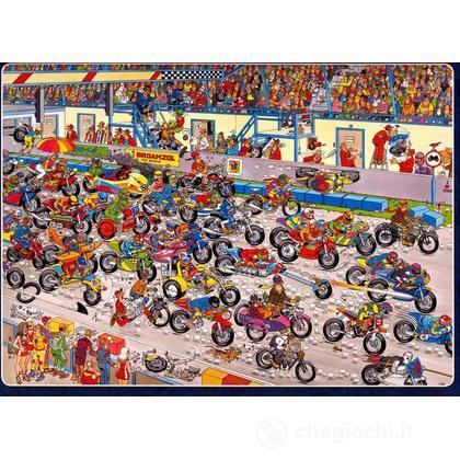 Comic 1000 Pezzi- Gara Di Motociclette (02046)