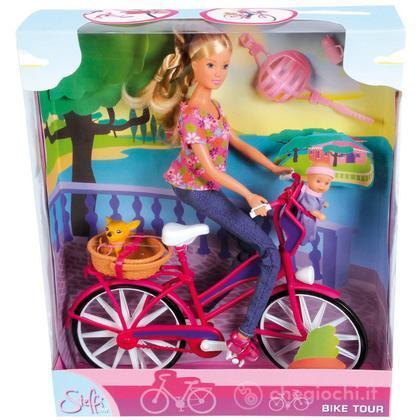 Steffi Love Giro in Bici con bebè, cagnolino e tanti accessori (105739050)
