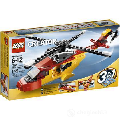 LEGO Creator  - Elicottero da soccorso (5866)