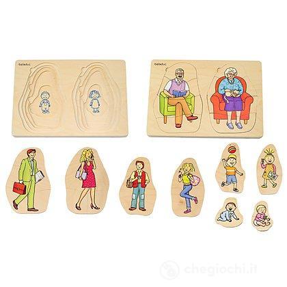 Layer Puzzle Nonna & Nonno (17052)